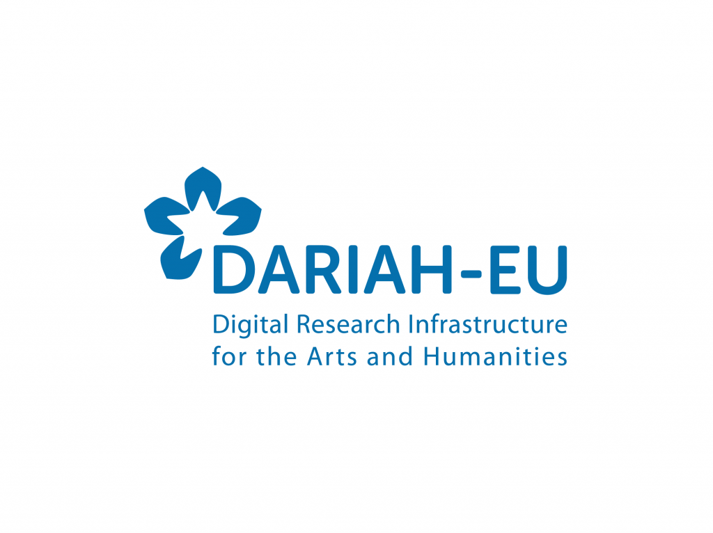 TRIPLE partner logo - Digital Research Infrastructure for the Arts and Humanities (DARIAH) ERIC