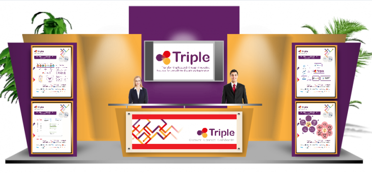 Screenshot TRIPLE booth