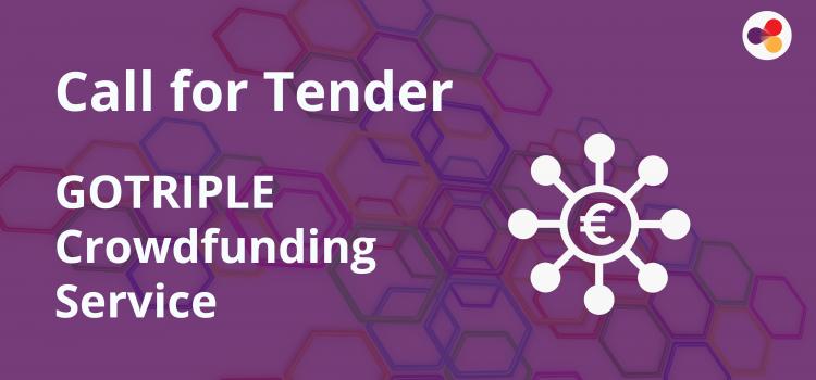 Crowdfunding Platform Call for Tender
