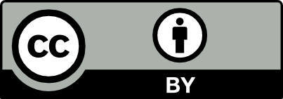 Creative Commons licence CC BY 4.0