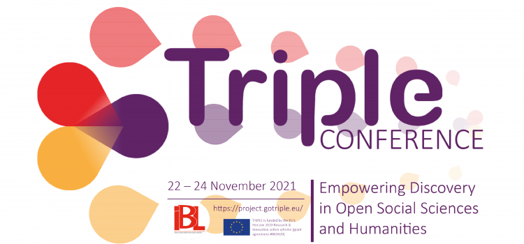 Join the 1st TRIPLE International Conference in November!
